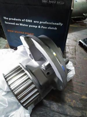 Waterpump Blazer merek GNS untuk DOHC