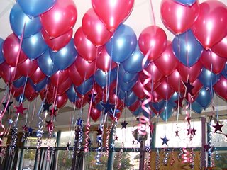 dekorasi balon gas