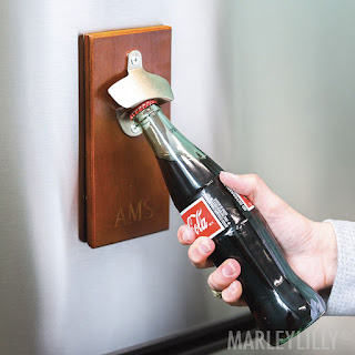 personalized gift idea for him - bottle opener