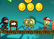 Ninja Kid Vs Zombies juego