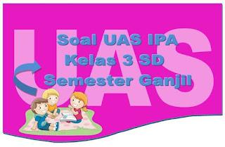 Soal UAS IPA Kelas 2 SD Semester Ganjil Lengkap Kunci Jawaban