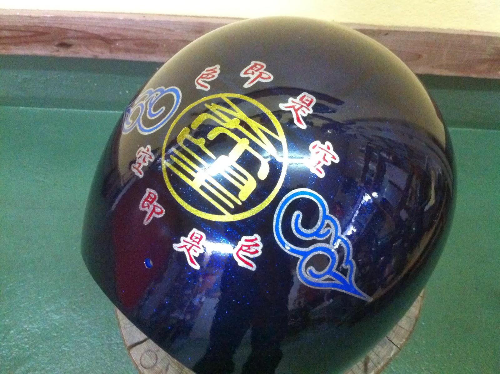 2027611111 - カスタムペイント工程 OGK ジェットヘルメット