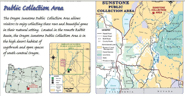 Public Gold & Gemstone Mines in Oregon