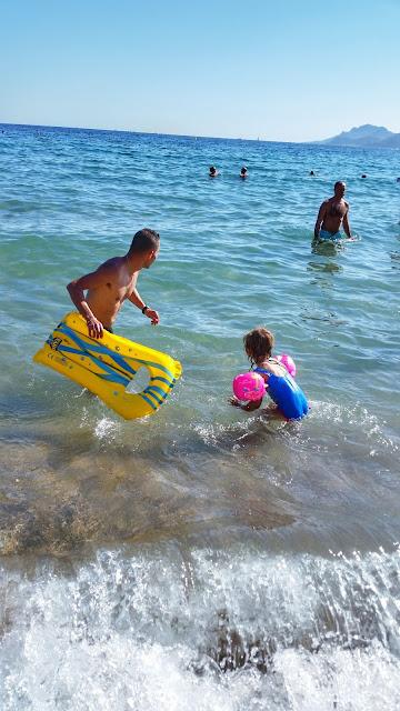 Cannes con bambini mare