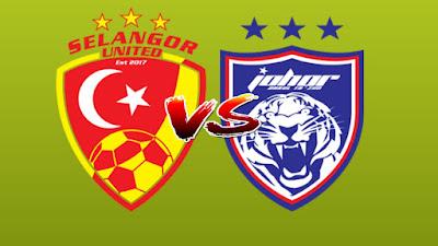Live Streaming Selangor United vs JDT II Liga Premier 12.5.2019