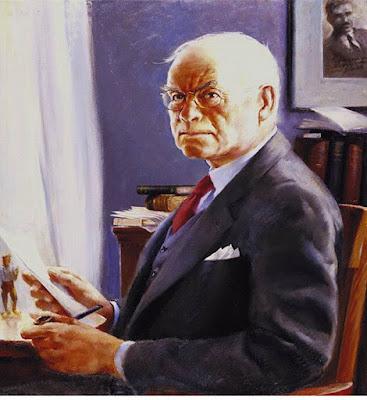 Edgar Lee Masters Portrait,  Francis J. Quirk Artist