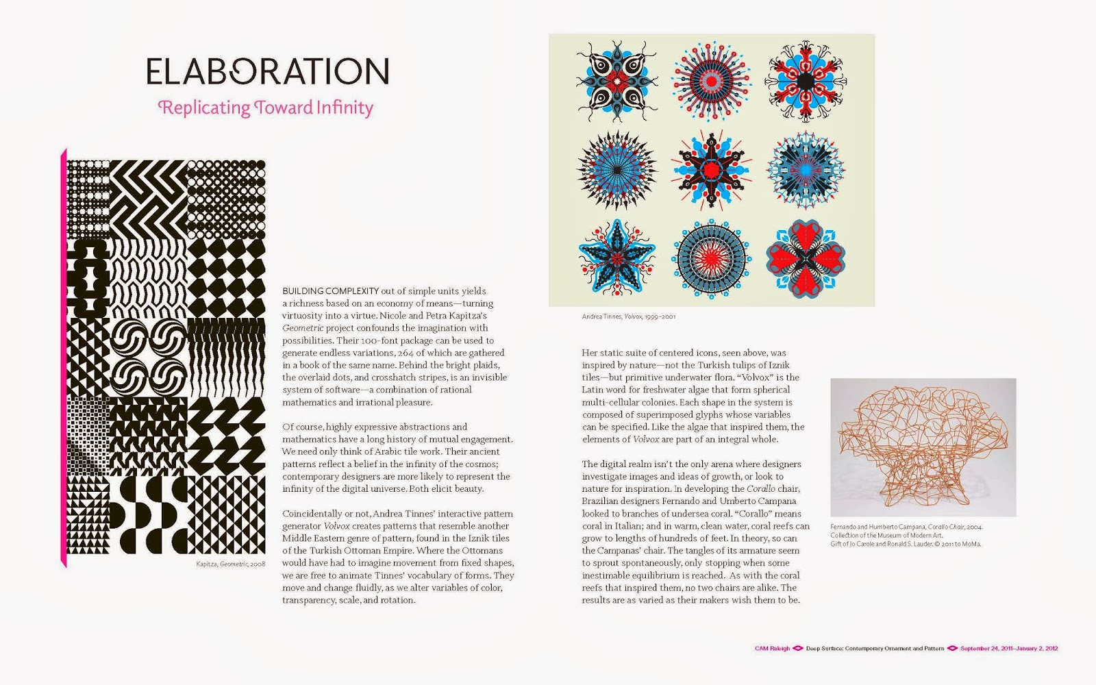 Deep Surface: Contemporary Ornament and Pattern: Design