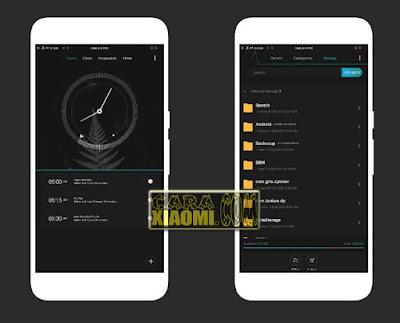 Screenshoot Theme Glow In The Dark Mtz For Xiaomi MIUI Android
