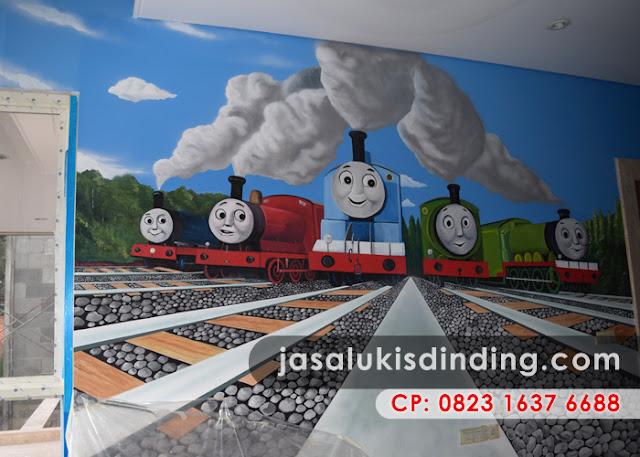 Lukisan dinding untuk kanak-kanak