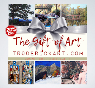 Coupon Code TIMEFORGIFTS at troderickart.com