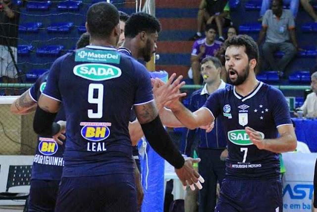 Sada Cruzeiro em busca de mais um título no Sul-Americano