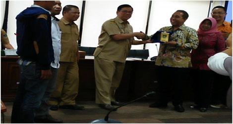 Wakil Ketua DPRD NTB Study Banding  Ke DPRD Sumbar