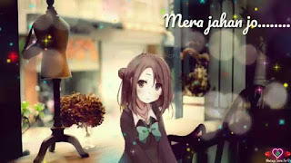 Mera Jahan Female Love Whatsapp Status Video Download