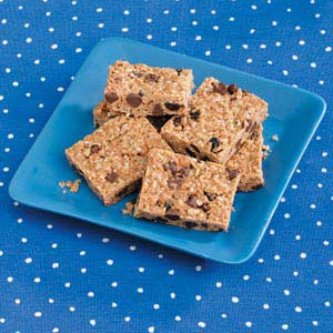 RecipeReview Homemade Chewy Granola Bars