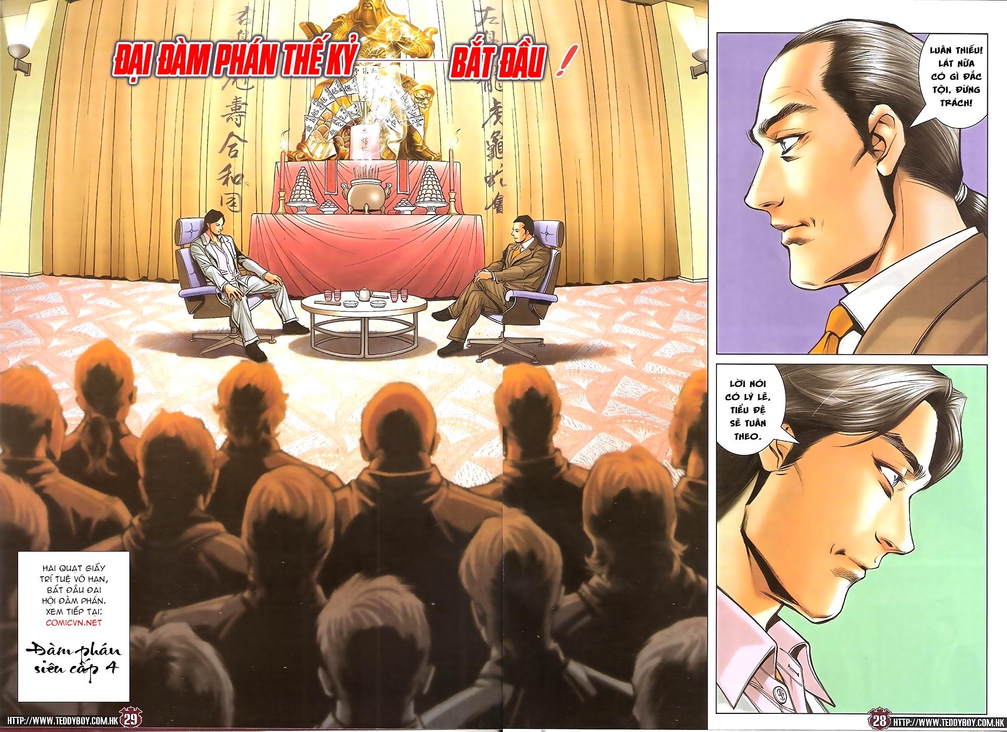 Người Trong Giang Hồ - Ngũ Hổ qui thiên - Chapter 1717: Đàm phán siêu cấp 3 - Pic 27