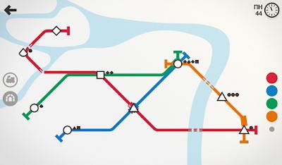 لعبة Mini Metro مكركة، لعبة Mini Metro مود فري شوبينغ