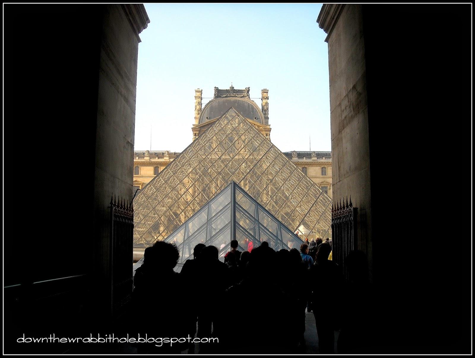 Paris, France, Louvre, Museum, Pyramids, Louvre Pyramid