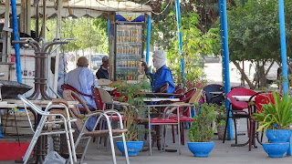 Nouakchott has adopted the french coffee culture