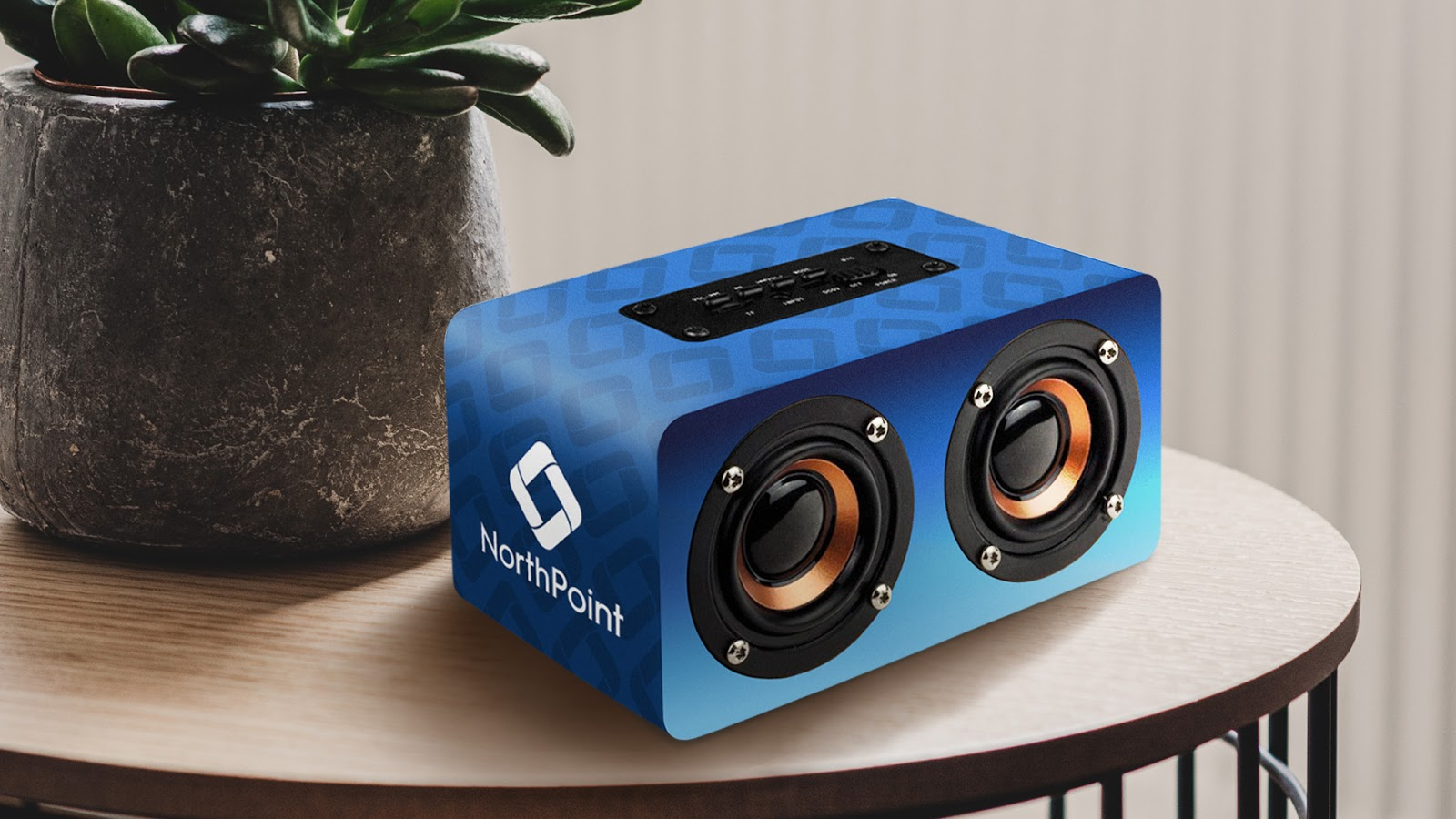 Double Dip Custom Wrap Bluetooth Speaker