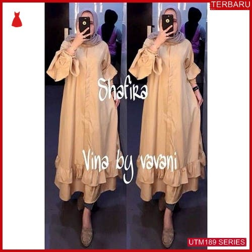 UTM189T58 Baju Tunik Muslim Shafira UTM189T58 0BD   Terbaru BMGShop