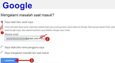 Cara Ganti Password Email Gmail Akun Google yang Lupa