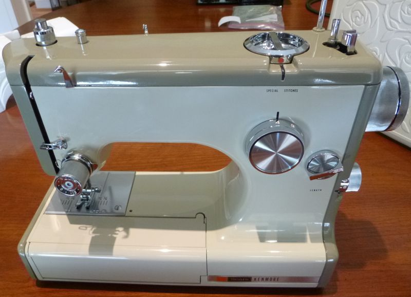 Tempted Threads Vintage Kenmore 4040 Restored Magnificent Kenmore 158 Sewing Machine