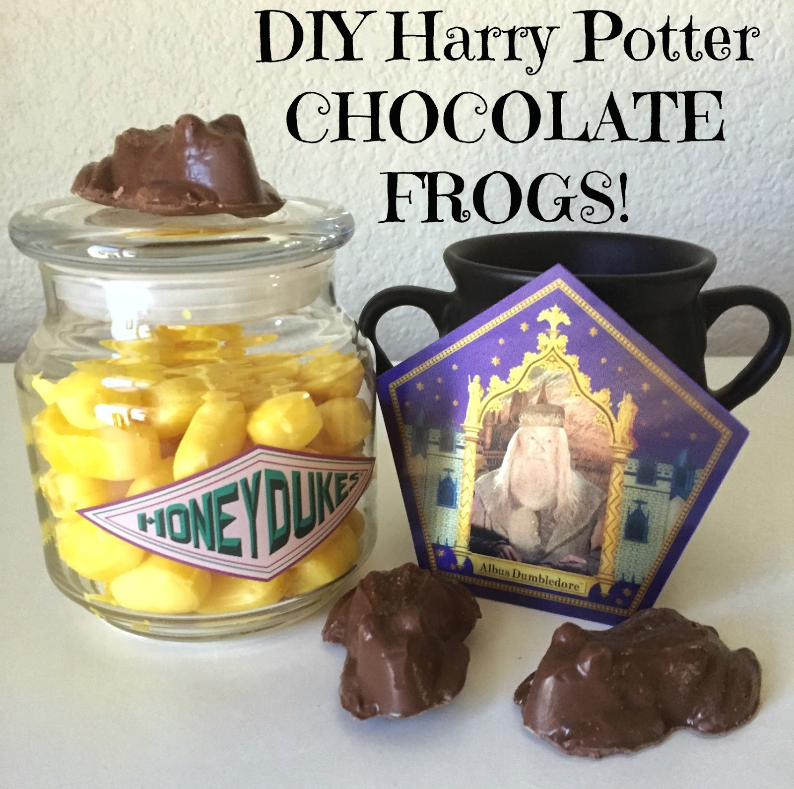 That Weird Girl Life Diy Harry Potter Chocolate Frogs 19 Years