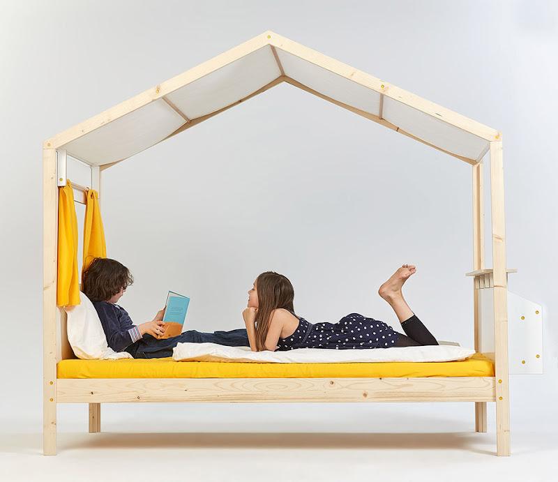 Estudiantes alemanes diseñan muebles para niños que fomenta la alegría