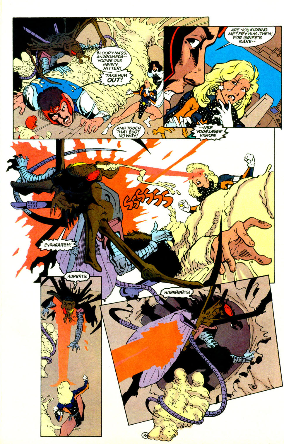 Legion of Super-Heroes (1989) 67 Page 16