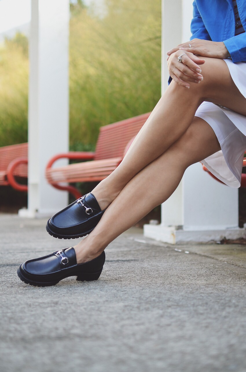 Gucci Classic Loafers Street Style