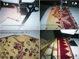 cara membuat kemeja