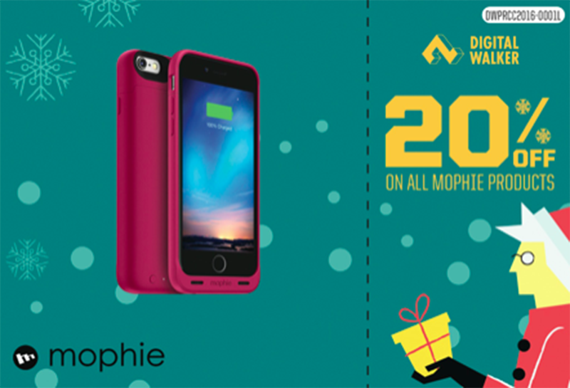 20% off on all Mophie products