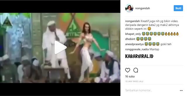Tidak Bermoral! Pentolan JIL Unggah Video Fitnah Editan Habib Rizieq Bersama Penari Setengah Telanjang