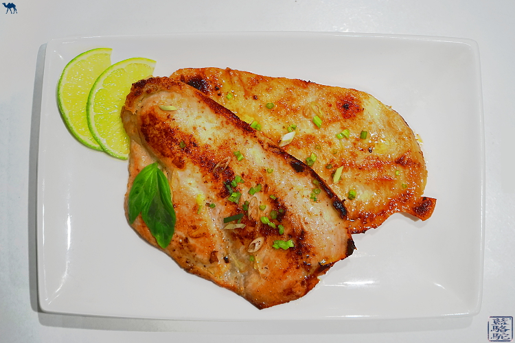 Le Chameau Bleu - Blog Cuisine et Voyage - Recette asiatique - Escalope de Poulet poelé à la vietnamienne