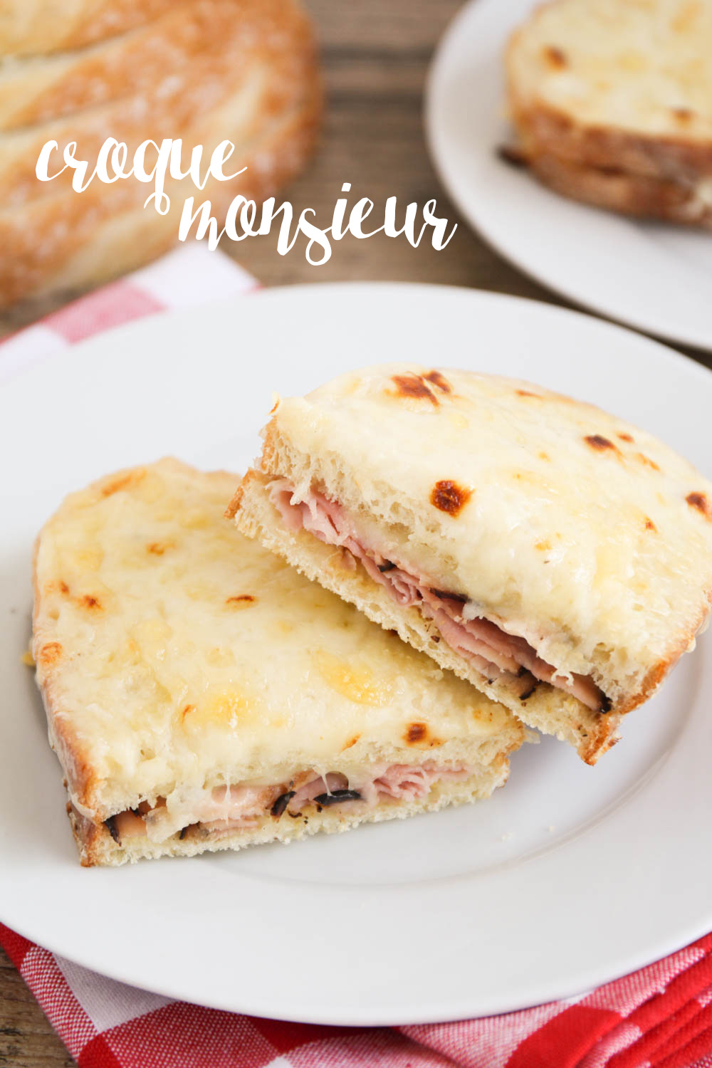 These croque monsieur sandwiches are delicious and surprisingly easy to make. A perfect hearty lunch or dinner!