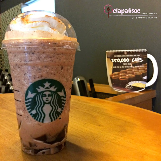 Chocolate Black Tea with Earl Grey Jelly Frappe by Starbucks