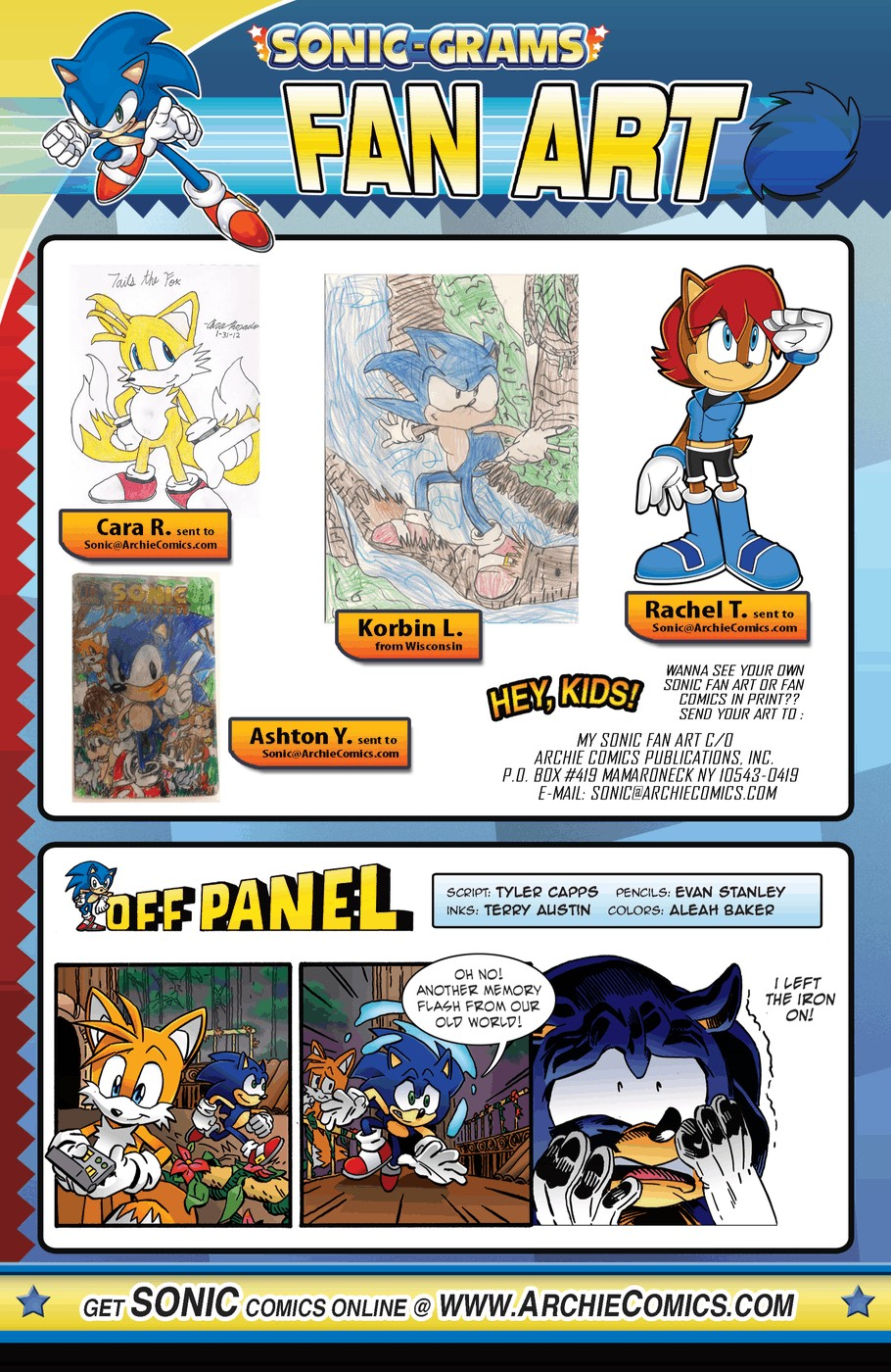 Read online Sonic The Hedgehog comic -  Issue #254 - 23
