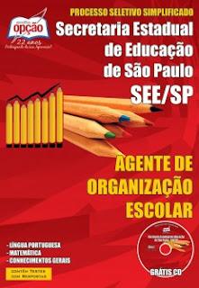 apostila Agente Organização Escolar SEE-SP