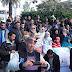 أسر شهداء الجيش المغربي تحتج أمام رئاسة أركان الحرب العامة