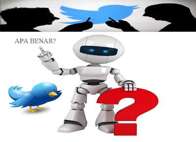 23 Juta Pengguna Twitter Bukan Manusia