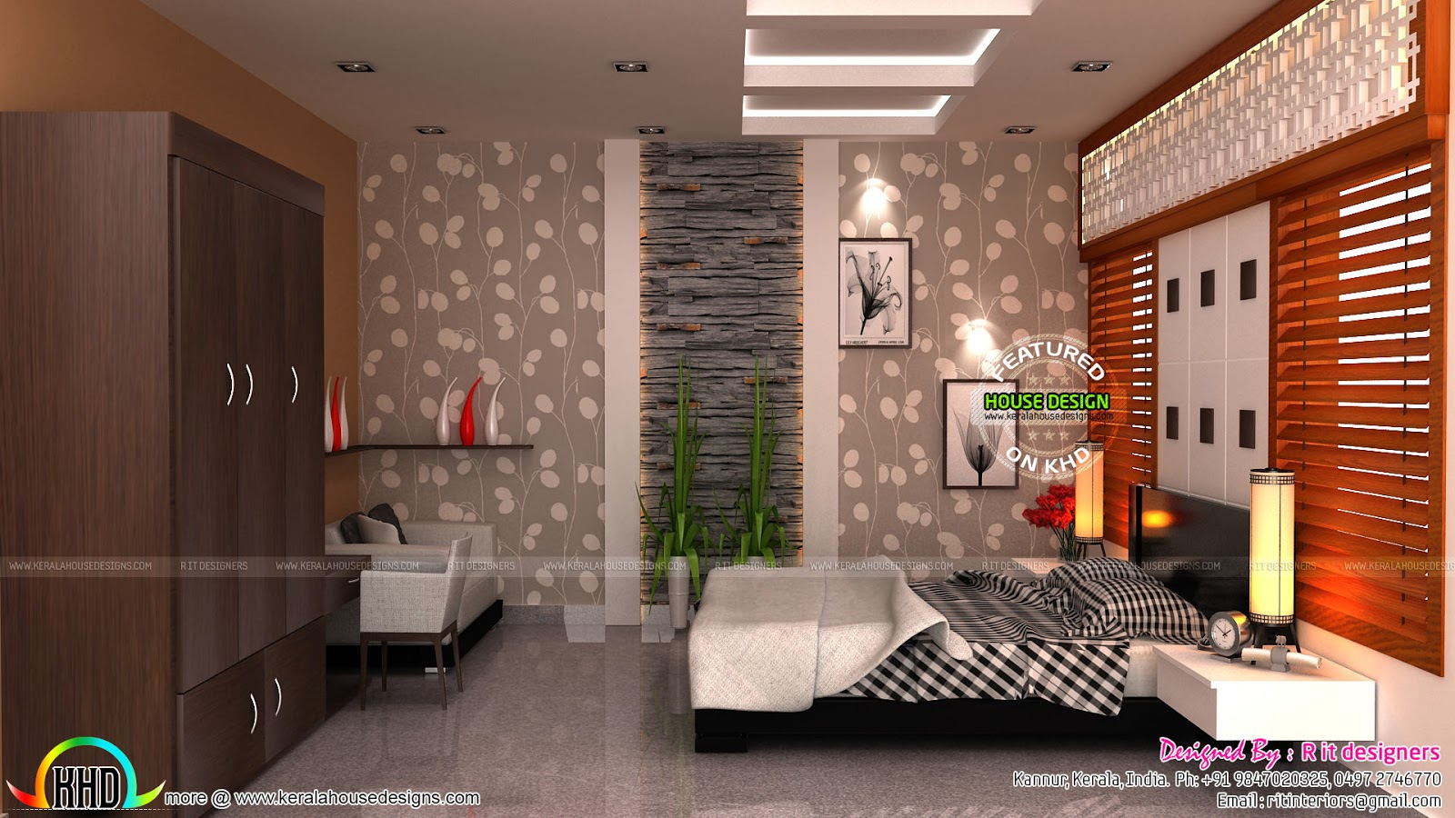 Interior Designs Of Year 2017 Trends Kerala Home Design