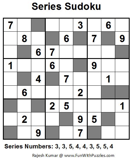 Series Sudoku (Fun With Sudoku #18)