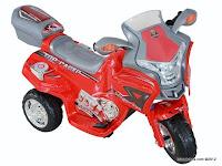 2 Motor Mainan Aki Pliko PK9088 Top Racer