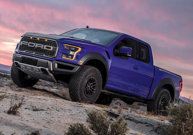 ford-f-150-raptor-blue-adventure-sunset-sky-wallpaper