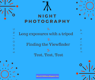 Method for doing night photography
