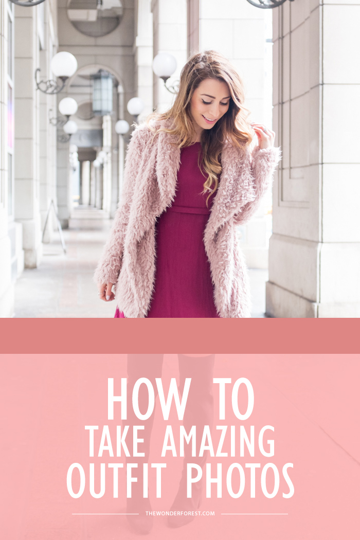 how to take amazing outfit photos