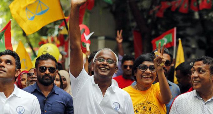 Sri Lanka welcomes outcome of Maldives election
