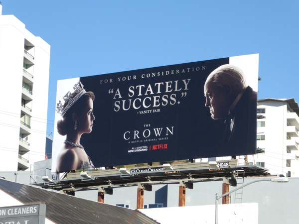 Crown Stately Success billboard
