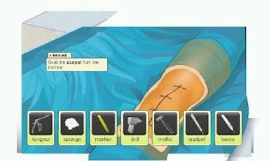 Cirugía Virtual: La aplicación android gratuita para simular cirugías, Cirugía Virtual, app, aplicación, android, smartphone, gratis