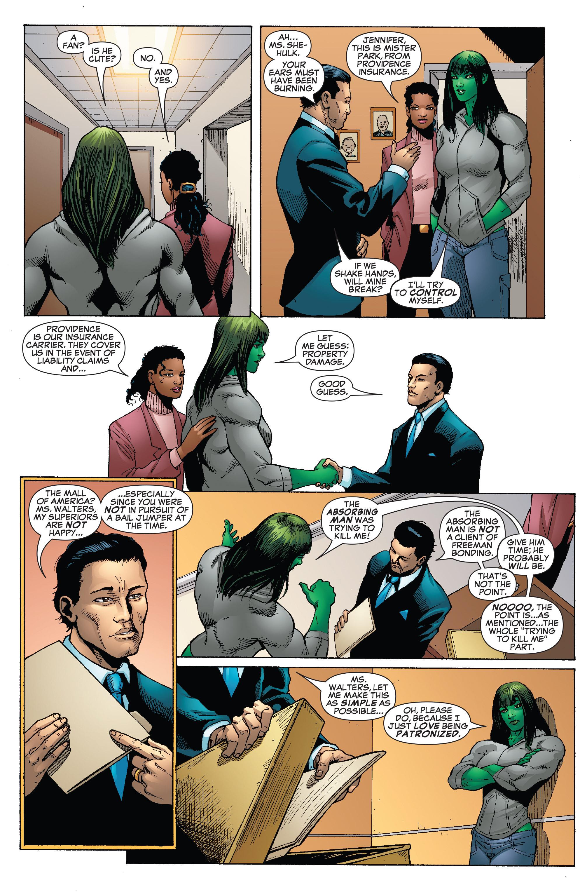 Read online She-Hulk (2005) comic -  Issue #24 - 11